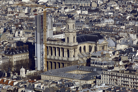 Biserica Saint Sulpice (Sfântul Sulpiciu) din Paris