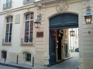 Casa unde a murit generalul La Fayette în 1834, situată în centrul Parisului, în apropiere de Champs-Elysées