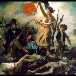 Libertatea în viziunea pictorului francez Delacroix, secolul XIX
