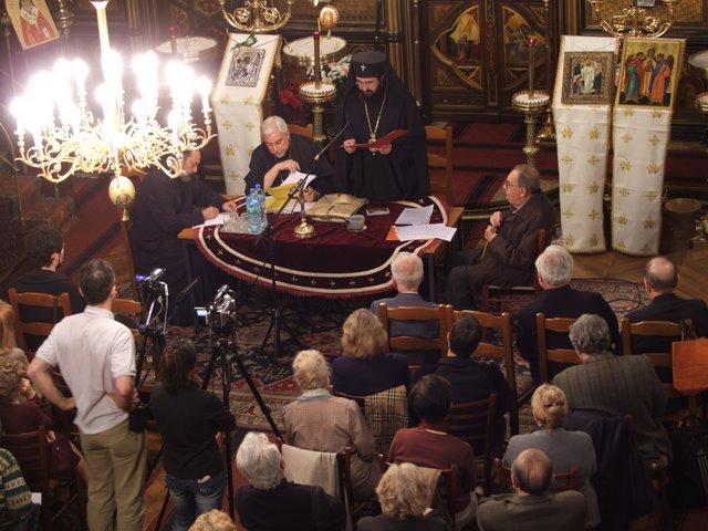 Adunarea generală extraordinară a Bisericii române din Paris a decis să treacă în jurisdicția Mitropolitului Iosif, la 10.05.2009