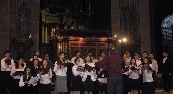 Corala Carmina Romana în concert la biserica Saint Sulpice din Paris