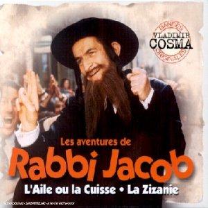 """Louis de Funès în filmul """"Aventurile lui Rabi Iacob"""", unde dansează pe muzica lui Vladimir Cosma"""