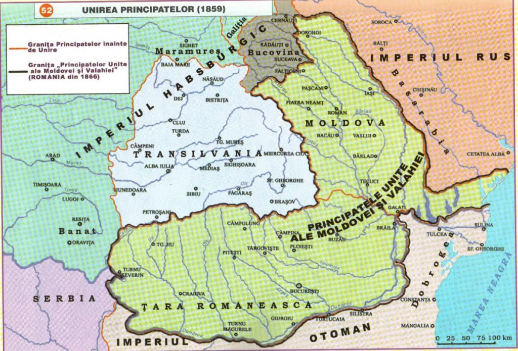 Harta Principatelor Unite