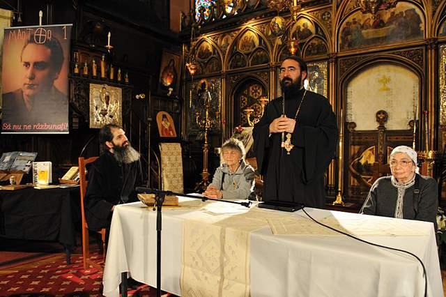 IPS Mitropolit Iosif vorbind despre Mircea Vulcănescu, Catedrala română din Paris, 22.05.2011