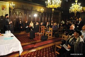 IPS Mitropolit Iosif vorbind la deschiderea Centrului Stăniloae în Catedrala Ortodoxă Română din Paris