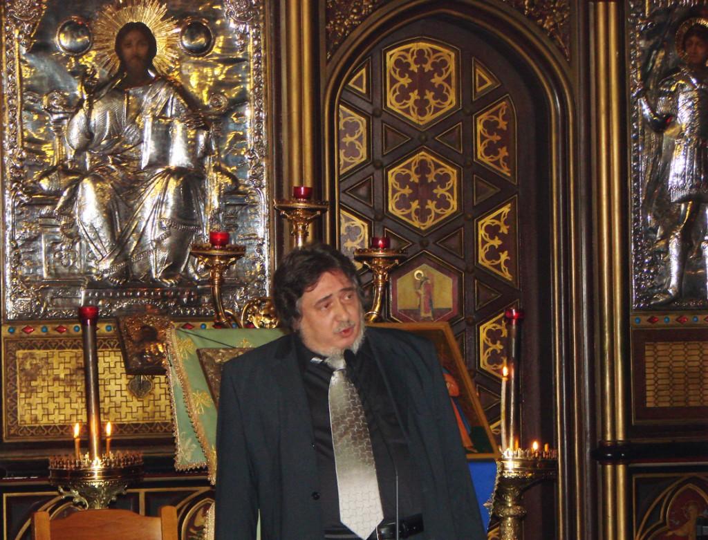 Răzvan Codrescu vorbind despre Părintele Calciu
