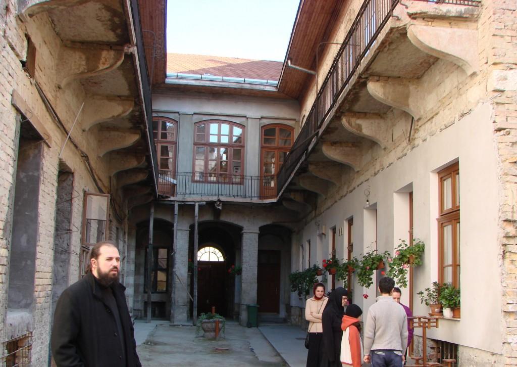 """Mănăstirea românească """"Sfântul Ioan Botezătorul"""" din Budapesta"""