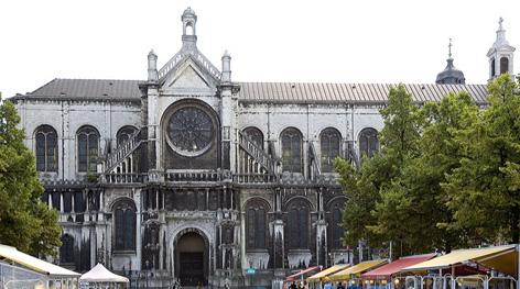 Biserica Sainte Catherine din Bruxelles