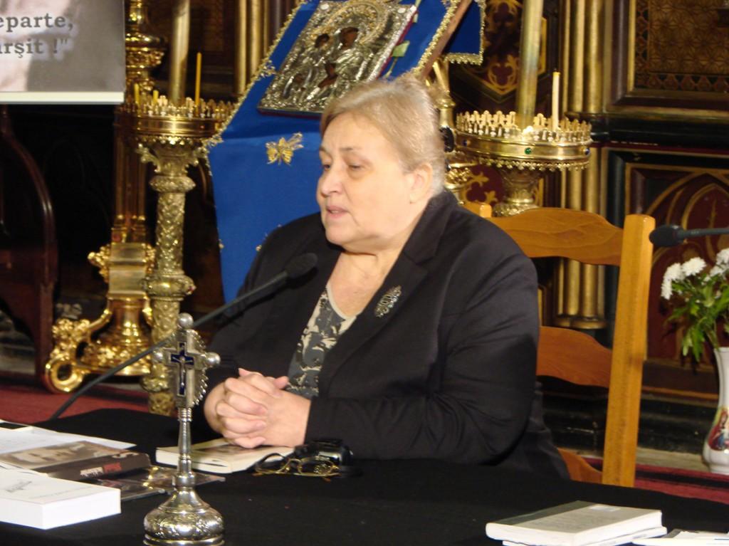 Carmen Ghiță vorbind despre Valeriu Gafencu