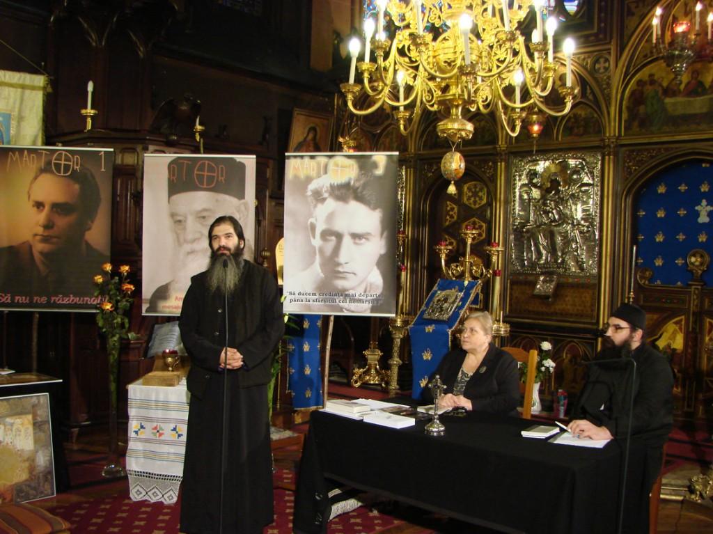 Evocarea lui Valeriu Gafencu la Catedrala Ortodoxă Română din Paris, 25.02.2012