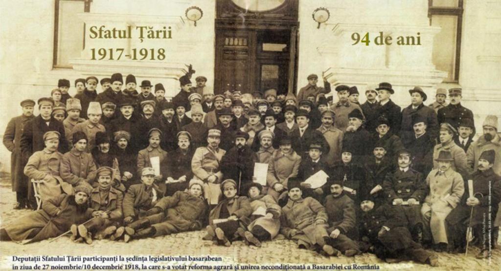 Membrii Sfatului Țării, artizanii Unirii Basarabiei cu România