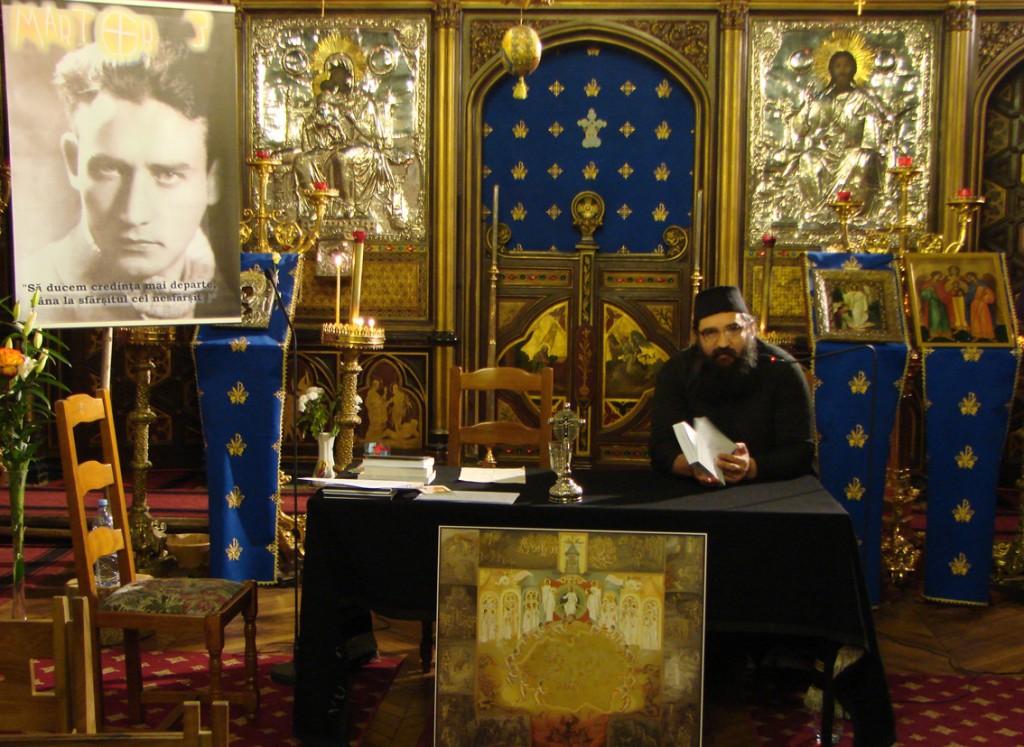 Părintele Moise Iorgovan de la Oașa vorbind despre Valeriu Gafencu