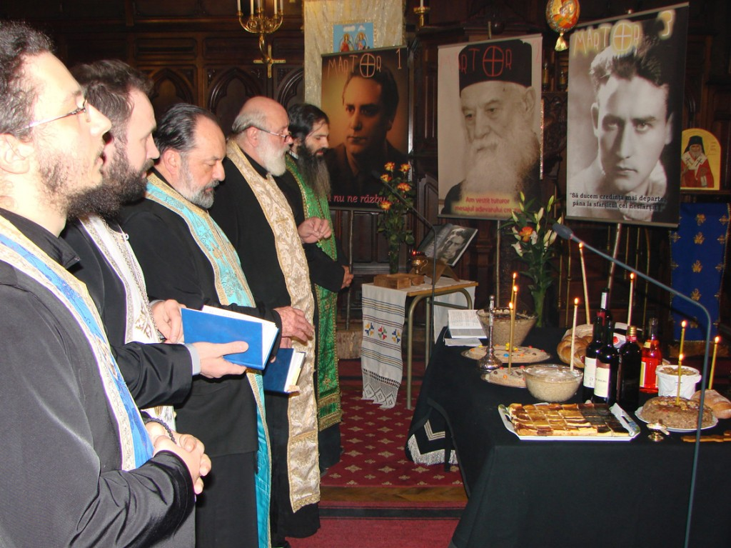 Parastas pentru Valeriu Gafencu în Catedrala Ortodoxă Română din Paris