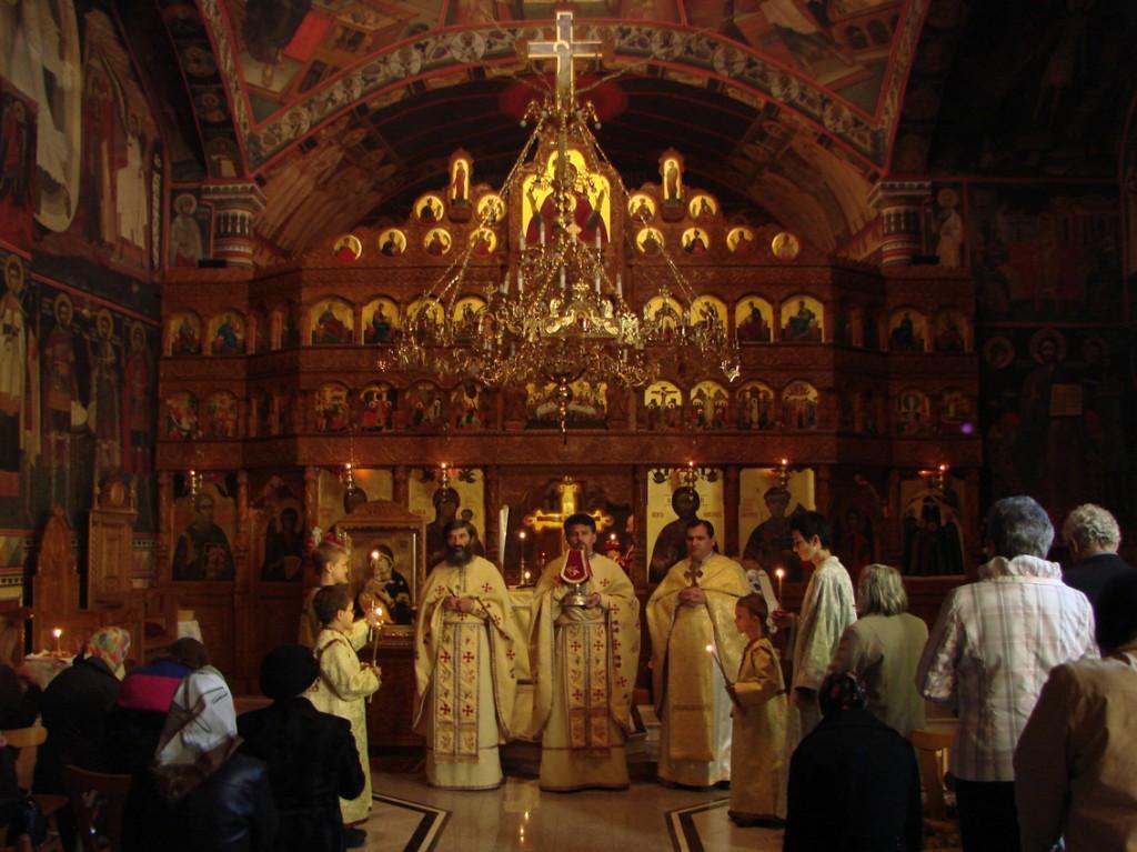 La Sfânta Liturghie în Catedrala ortodoxă română din Nürnberg