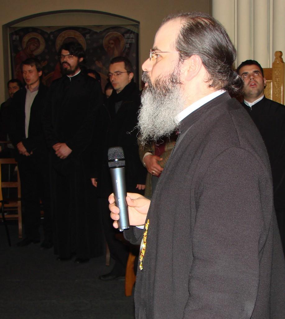 PS Episcop Ignatie Mureșanul în Catedrala Ortodoxă Română Sfântul Nicolae din Bruxelles