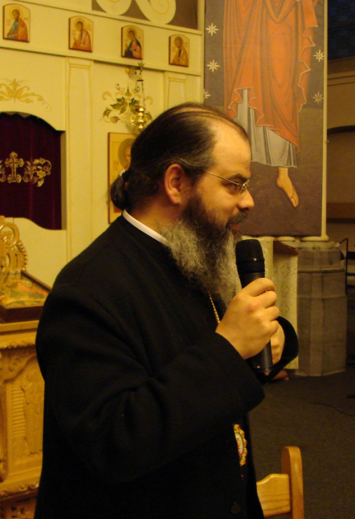P.S. Episcop Ignatie Mureșanul în Catedrala Ortodoxă Română din Bruxelles